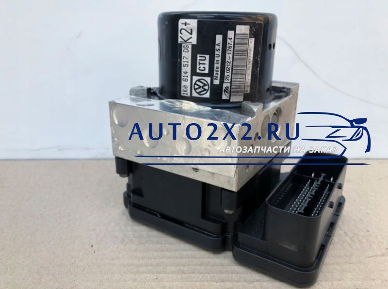 Блок ABS 1K0907379BJ 1K0614517DL
