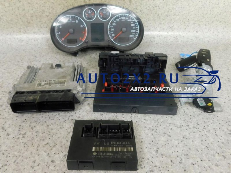 ЭБУ A3 8P 2.0 TFSI 0261201915 8P7907115
