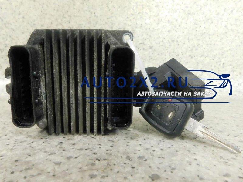 Блок управления двигателем Зафира A 16V 16250009