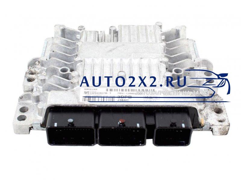 Блок управления ДВС FOCUS C-MAX 1.8 TDCI 7M5112A650APB 5WS40607B