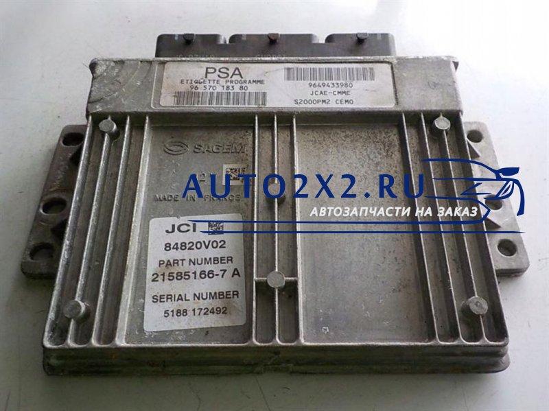 Блок управления двигателем Берлинго 1.4 9649433980